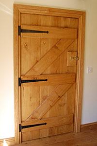 barn_doors & Oak ledge Oak Doors Oak Ledged Brace Doors